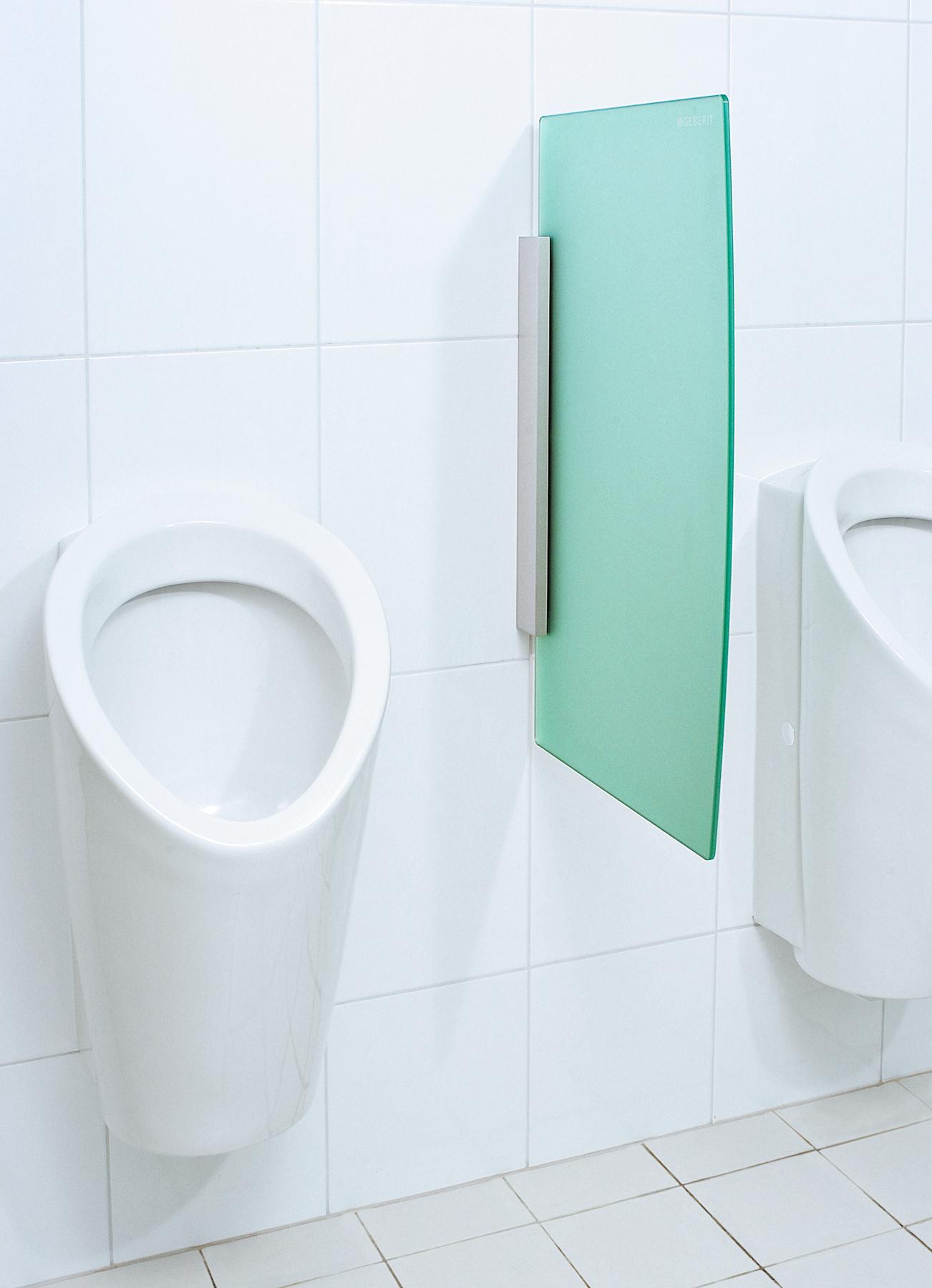 Urinal partition, green No. 1_bigview_${01458106}