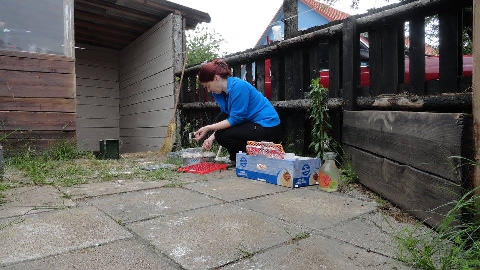 Foto 5-DZK- priprava na prenovo boksov za konje